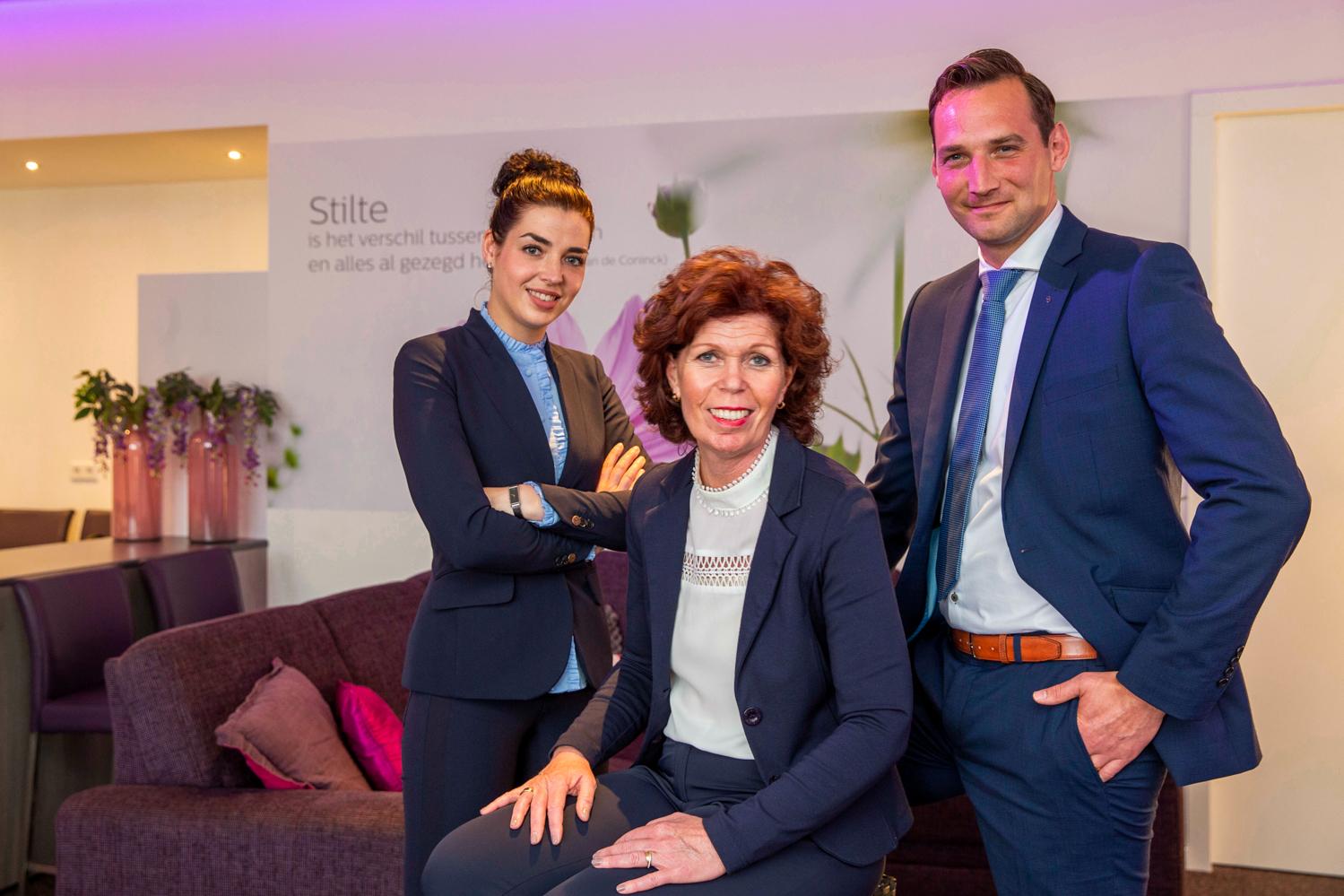 Veldhoen Uitvaartzorg - Christine Veldhoen, Paul van Weert en Sien Hommeles
